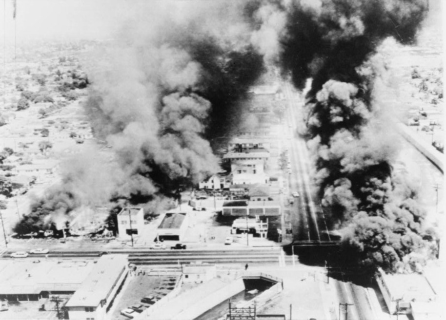 how the watts riots on august 11 1956 in los angeles affected history Start studying final exam history 132 learn vocabulary, terms, and more with flashcards, games, and other study tools.