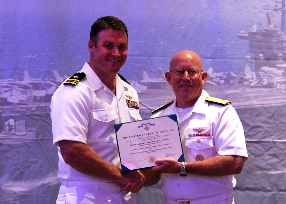 Navy Pilot Awarded Distinguished Flying Cross for Shooting Down Syrian Jet - OpsLens